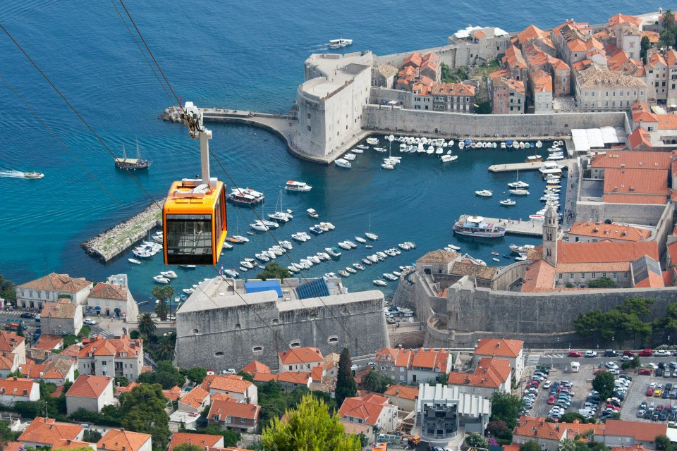Free ride with Dubrovnik Cable Car