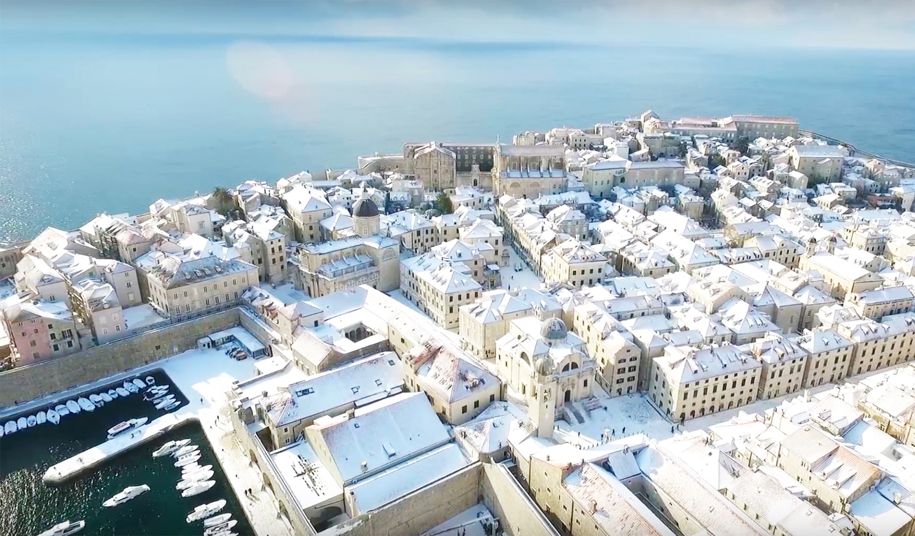 Snow video that will take your breath away