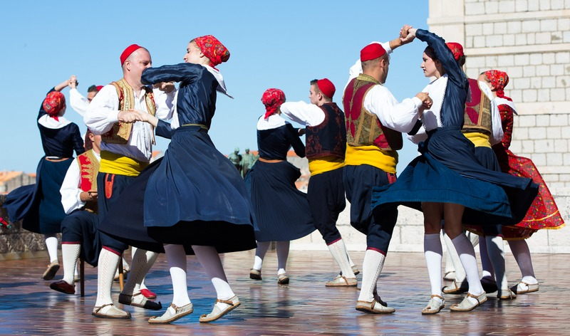 Traditional dance as one of the most important attractions of Dubrovnik